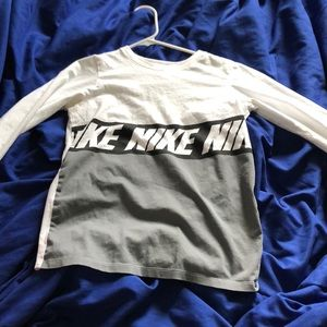 Boys Nike long sleeved shirt